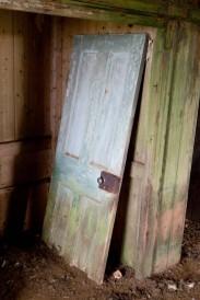 Buried door
