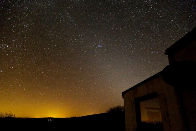 Zodiacal Light and the Pleiades